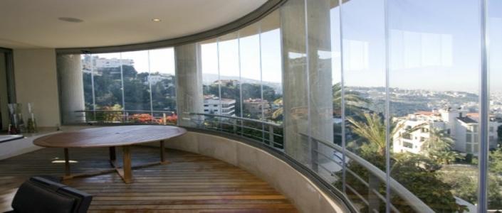 Cam Balkonlar İçin Perde Önerisi
