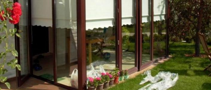 Balkon Kapısı İçin Perde Tasarımları
